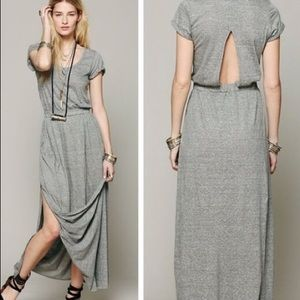 Free People • Side Slit Maxi Dress